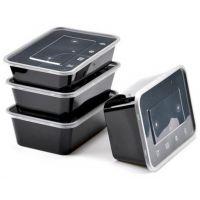 鑫合众 方形750 环保餐盒|PP包装盒|食品PP保鲜盒|食品PP饭盒|一次性餐盒
