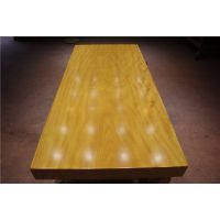 非洲黄花梨实木大板茶桌餐桌 原木办公电脑桌现货简约现代