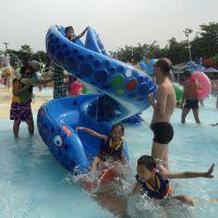 广州润乐水上乐园设备供应戏水小品-蛇型滑梯