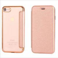 苹果iphonex手机皮套电镀tpu翻盖式iphone6splus保护套批发定制