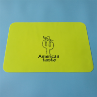 40*30cm防水硅胶餐桌垫 丝印彩印硅胶餐垫 防滑隔热学生儿童餐垫