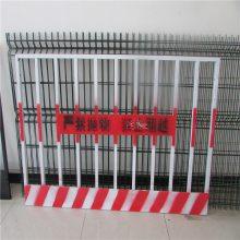 安全防护门 钢板网电梯门 建筑施工围护