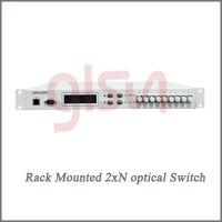 glsun光开关 光开关厂家 桂林光隆2xN(N≤16) 机架光开关 光选路器 选光器