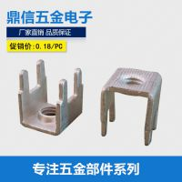 厂家批发pcb接线端子PCB-10m4焊接端子电子元器件连接器铜端子
