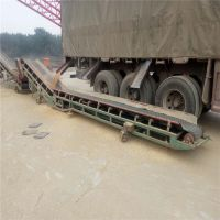 伸缩式皮带输送机生产 兴亚矿山通用带式输送机