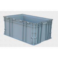 青岛若贤生产D型物流箱带盖无盖-全新料质量优