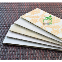 订制 竹木纤维集成墙板吊顶装饰材料板生态木全屋整装护墙板