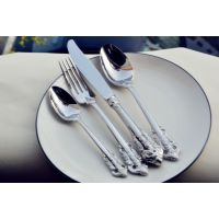 304不锈钢刀叉套装西餐餐具 国宴宫廷系列牛扒刀叉勺