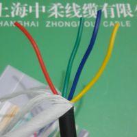 上海中柔线缆TRVV4*1.5耐弯曲柔性拖链电缆