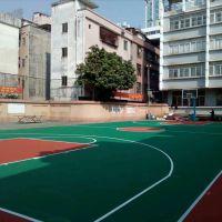 丙烯酸篮球场施工32元/㎡包工包料 珠海工厂内球场地面建设