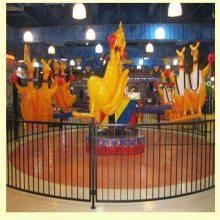 五颜六色的儿童游乐设备袋鼠跳新奇游乐设备厂家设计