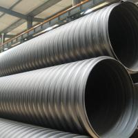 HDPE钢带管钢带螺旋增强波纹管dn800