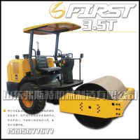 小型压路机3.5吨轮胎式 小型振动压路机型号价格低