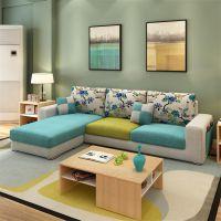 厂家批发创意家具 酷可斯608A个性组合客厅休闲布艺沙发 简约时尚