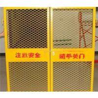 广东省hysw施工电梯门安全门基坑护栏网现货-616