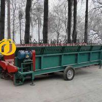 金诺1800型槽式木材剥皮机