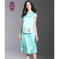 供应:女装价格,定做旗袍,高端定制 航龙服饰 中式唐装 时装礼服 量身定制