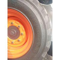 供应美国山猫滑移装载机S550重载型真空胎,含轮毂 滑移铲车轮胎 工程机械轮胎