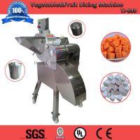 供应果蔬切丁机,草莓西红柿切丁机,切蒜粒机,三维不锈钢电动型TJ-800