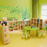 幼儿园宝宝带书架板式玩具柜 简约儿童卡通超大容量整理架