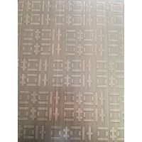 佛山蚀刻古铜色无指纹板厂家 304拉丝哑光树心纹板价格 古铜色木纹蚀刻不锈钢板