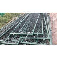 供应瑞才浸塑勾花焊接学校球场围栏(2-4米)