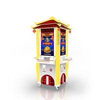【小青猫】 GE-001-4 财神乐翻天4人台彩票机 新款游戏机 儿童游戏机厂家