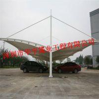 华宇专业承接 膜结构车棚,户外停车棚,户外遮阳挡雨车棚,电动车充电棚