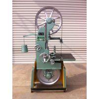MJ317小型木工电动带锯机 定做自动送料器边角开料推台锯木机