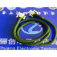 骊创热卖矩形连接器矩形连接器J30J-15TJL7-50CM 插头插座
