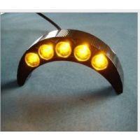广顺销质保二年3WLED瓦片灯 金黄光精品LED3W瓦片灯