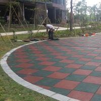 广州老年活动中心安全地垫安装,江海游乐场安全地垫规格,安全地垫铺装实物图