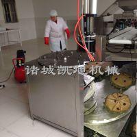 凯旭供应发糕均匀分切机 全自动切蛋糕机器 米糕六等份分切机 切发糕机器