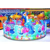 神童游乐新型专利海洋大歌星 欢乐喷球车新款 室内外儿童游乐设备