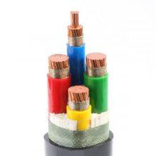 长峰BPFFP3 氟塑料绝缘和护套铝聚酯复合膜绕包屏蔽耐高温变频电力电缆
