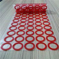 圆柱形φ5*4mm硅胶脚垫 雾面防震胶垫厂家
