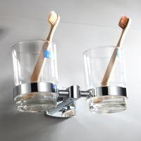 贝洛德全铜双杯架牙刷杯架漱口杯台