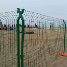 临时施工围栏网 农村新建设护栏网片 绿色隔离网栏