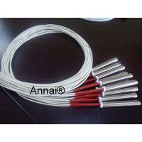 苏州KSAN10*100单头电热管,电压220V/380V功率线长可定制