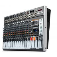 狮乐天琴九号调音台 专业舞台会议室调音器 16路PVC外壳数字效果器