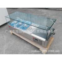 冰友牌商用台式冷藏展示柜桌面型冷藏柜厂家直销非标定做保鲜柜
