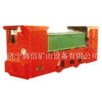 腾信矿山设备厂家直供8T防爆特殊型蓄电池式电机车(双司室)