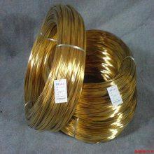 国产浙江黄铜线H62 H65环保黄铜线 进口黄铜丝现货供应 深圳厂家批发黄铜丝