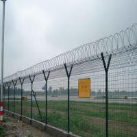 朋英厂家供应浸塑不锈钢丝机场护栏网