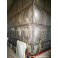 不锈钢水箱 方形不锈钢水箱 镀锌水箱  玻璃钢消防拼接水箱