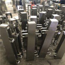 金聚进五金厂供应 不锈钢栏杆 不锈钢护栏立柱 家用楼梯立柱DEW528