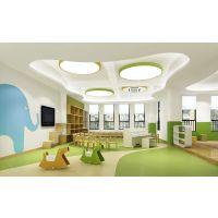 幼儿园专业设计方案哪家理念独特南昌幼儿园室内外环境设计,蓝色木棉