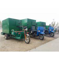电动2立方养殖撒料车 合肥养殖饲料投料机 三马车动力撒料车