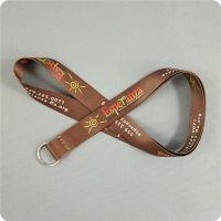 广州热转印织带挂绳厂家直销男女通用胸牌挂带 汽车钥匙扣吊绳