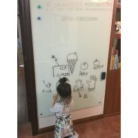 肇庆加厚超大白板Q惠阳儿童涂鸦白板W磁性玻璃白板
